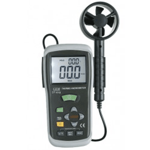 Thermo-anémomètre - Thermo-anémomètre avec sonde déportée à hélice.