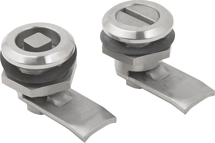 Quarter-turn Lock, Stainless Steel - Toggle clamps Pneumatic clamps Accessories for clamps Latches Quarter-turn locks