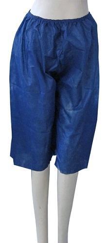 Short no tejido - Material: PP no tejido Color: azul oscuro / negro Peso: 25gsm-45gsm Tamaño: M /
