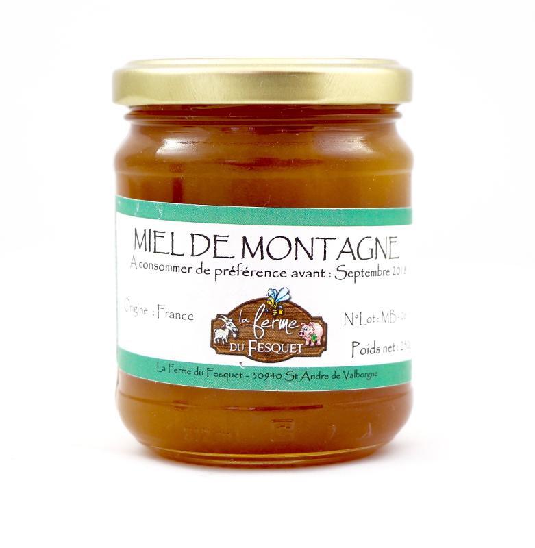 Miel de montagne 500 G - Épicerie sucrée