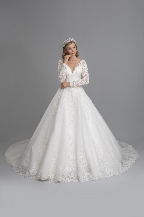 a-line weddingdress - model 430