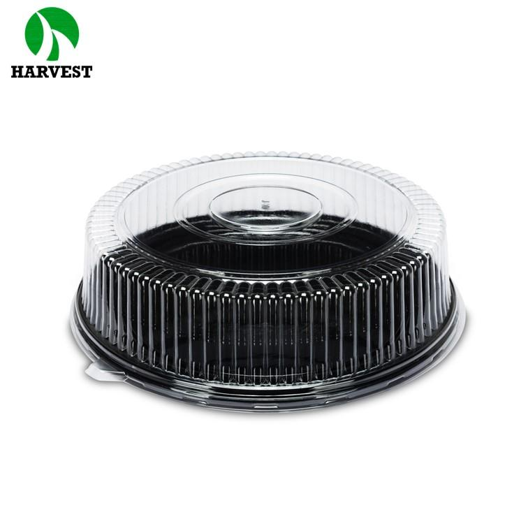 Disposable Clear Plastic Baking Cake Box With Lid - Cake Boxes