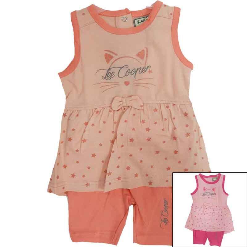 Distributor set of clothes licenced Lee Cooper baby - Summer Set