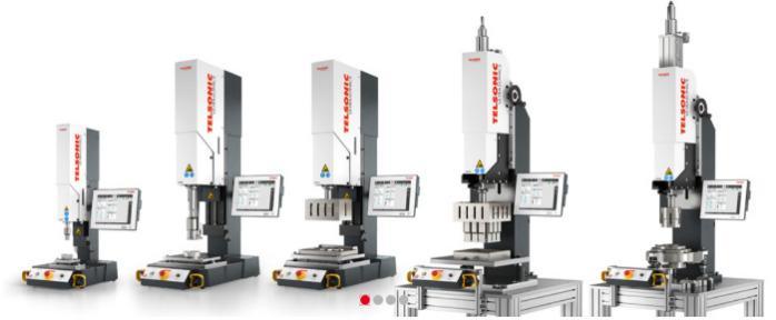 Ultrasonic-weldingsystems USP - Welding press for optimum quality across the entire range of applications