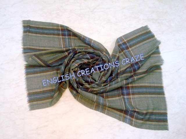 Yak Wool Melange Scarves  - Yak Wool Melange Scarves