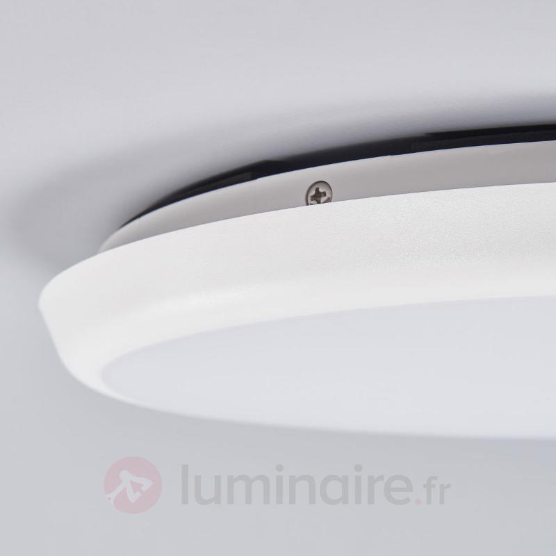 Plafonnier LED discret Augustin, 30 cm - Plafonniers LED