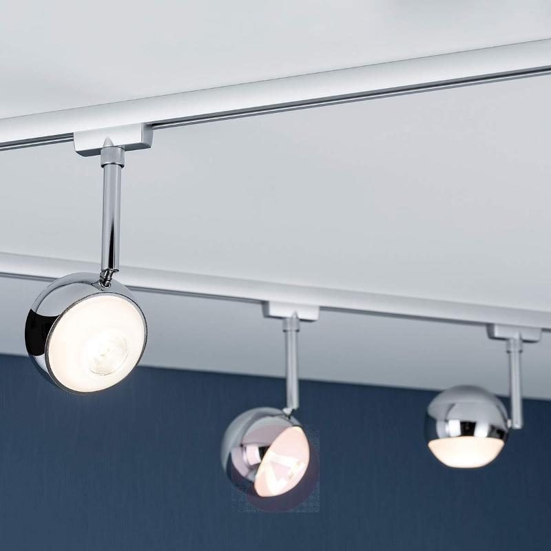 Capsule LED spotlight for U-Rail track system - U-Rail