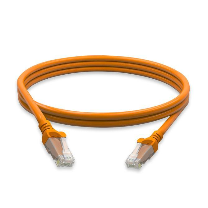 Cat5e Molded Boot 24 Awg Pvc 1ft Ethernet Network - null