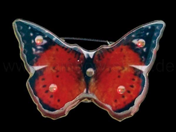 Blinki Blinker rot blau Motiv: Schmetterling - null