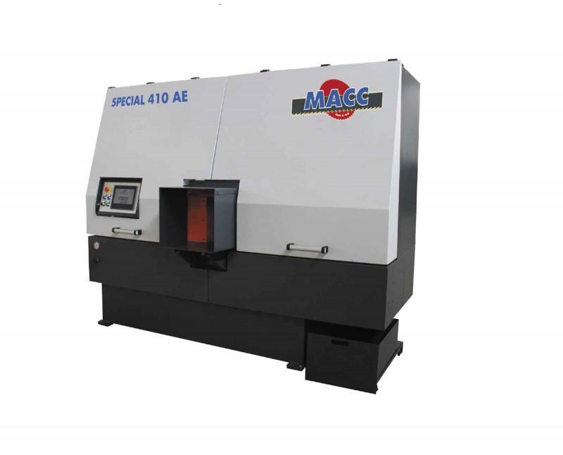 SPECIAL 410 AE – Bandsägeautomat - SPECIAL 410 AE – Vollautomatischer Bandsägeautomat