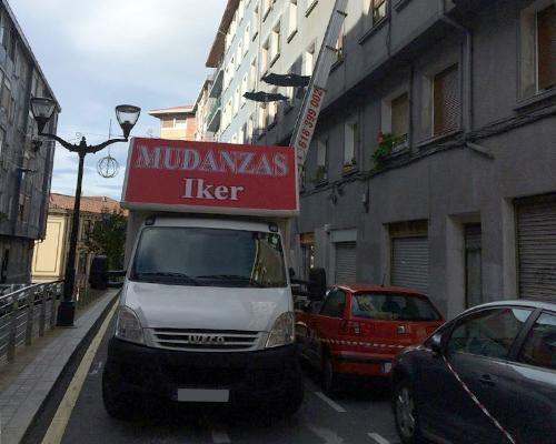 Transporte de mercancías Bizkaia - Servicios