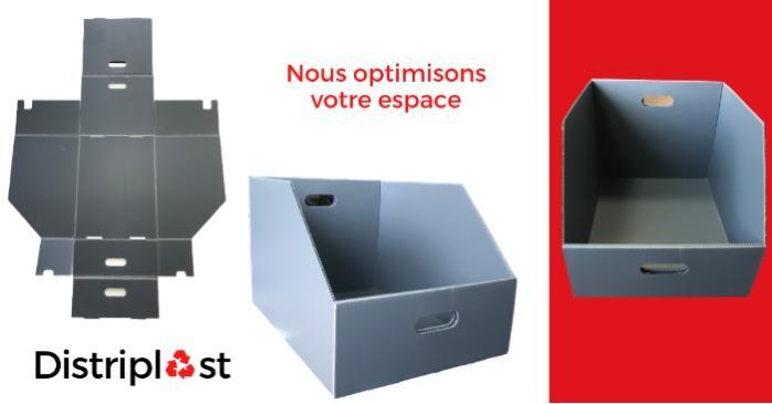 Distribox, l'emballage sur-mesure - Solutions d'emballage plaques alvéolaires en polypropylène