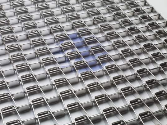Металлическая сетка: Решётчатая сетка - Гибкая решётчатая сетка, выдерживающая большую нагрузку