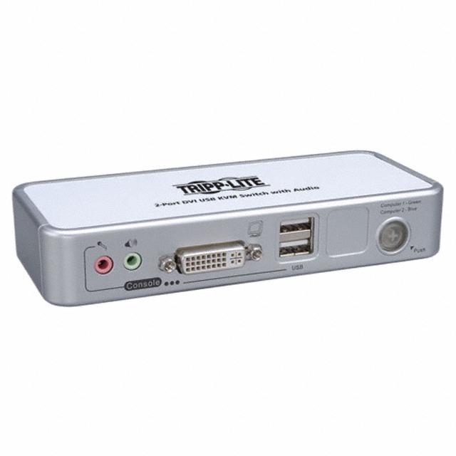 2 PORT KVM SWITCH (DVI/USB) - Tripp Lite B004-DUA2-K-R