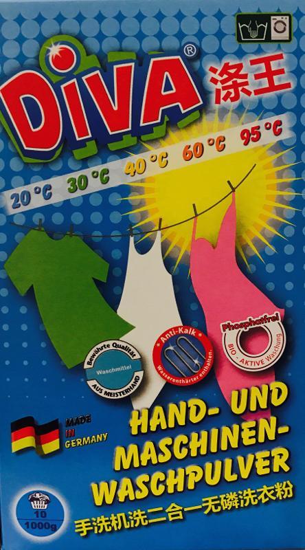 DIVA Hand -und Maschinen-Waschpulver - Reinigung - Pflege