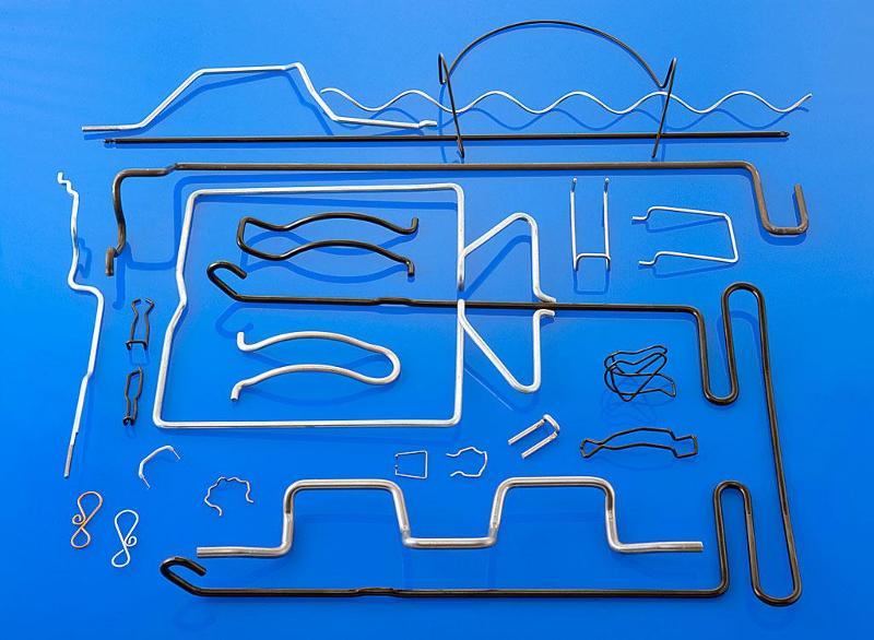 Wire formed parts