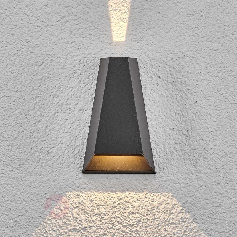 Applique d'extérieur LED Peeke à éclairage - Appliques d'extérieur LED