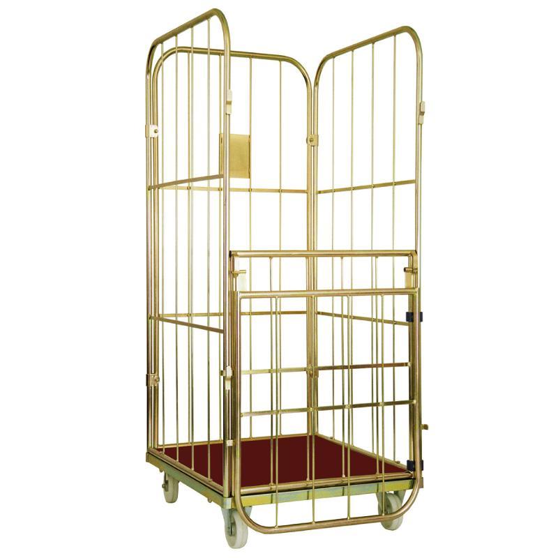 Gittercontainer Junior, Maße: 600 x 720 x 1520 mm - Gittercontainer