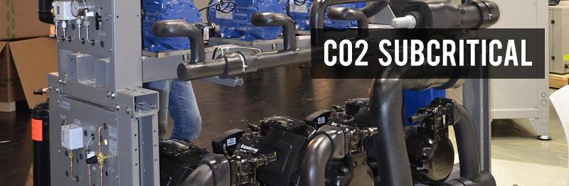 Compressor packs - CO2 Subcritical