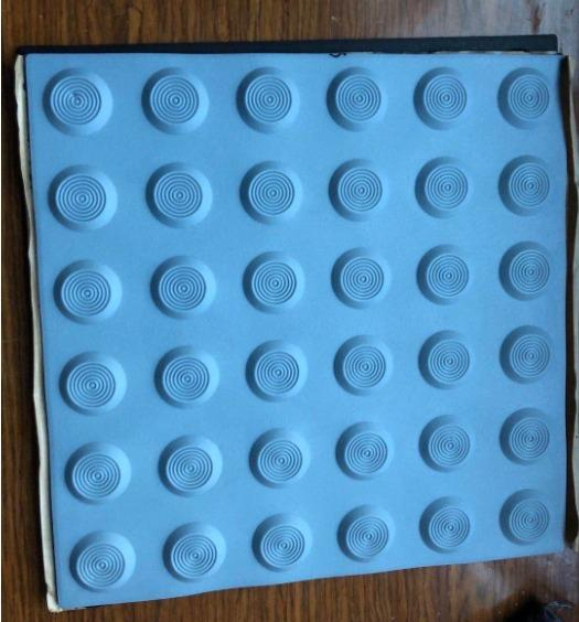 Tpu/Pvc tile - tactile tile