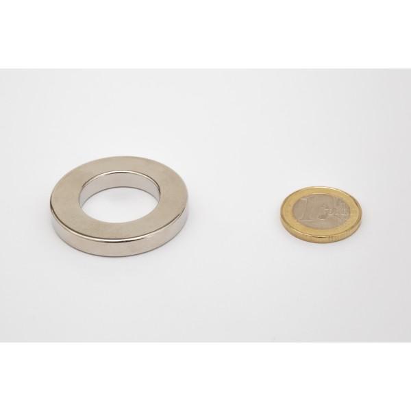 Neodymium ring magnet, 40/23mm, height 6mm, N42,... - null