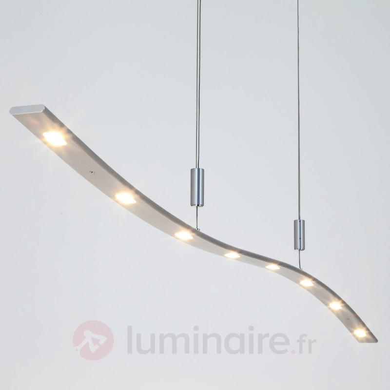 Suspension LED Xalu à hauteur réglable 160 cm - Suspensions LED