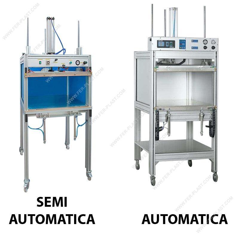 Pressa PIUMA per lavanderie - Imballaggi: attrezzature e materiali