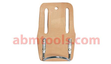 Fixed Hammer Holder - Leather with fix chrome plated steel hammer holder.