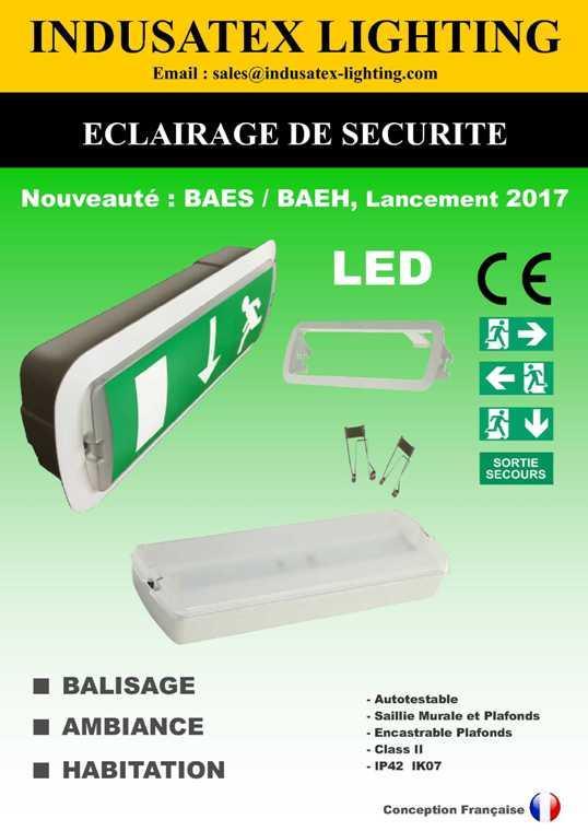ECLAIRAGE DE SECURITE