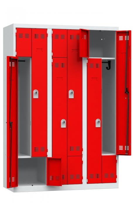 Vestiaires - Vestiaires portes en L