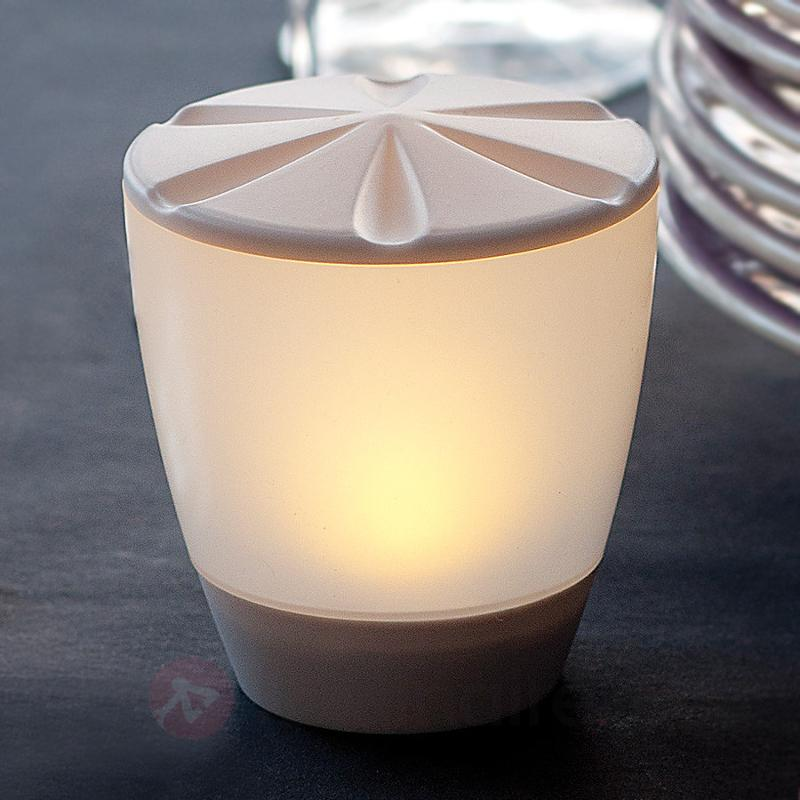 Belle lampe à poser LED solaire Turner - Lampes solaires décoratives
