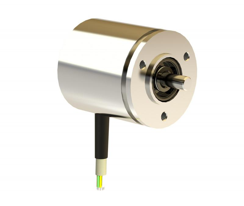 Rotary encoder TME42 - Absolute rotary encoder made of aluminium or stainless steel