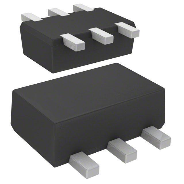 TRANS PREBIAS DUAL NPN SMINI6 - Panasonic Electronic Components DMC564040R