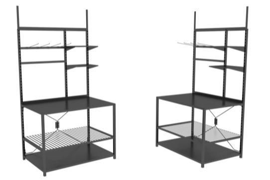 INFINITY, le présentoir standard, modulable et circulaire -  1 DISPLAY / 1 000 POSSIBILITES