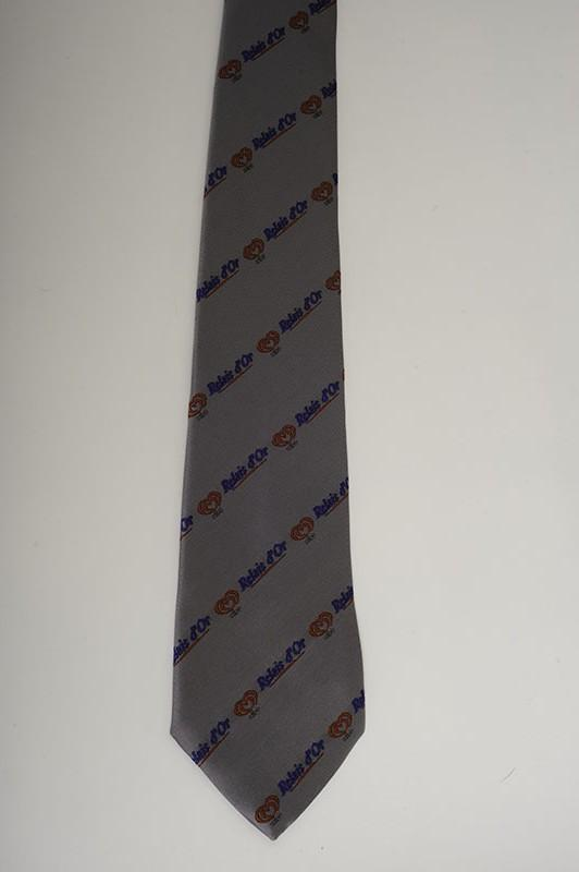 Cravates publicitaires personnalisées - cravate publicitaire, (personnel salon)