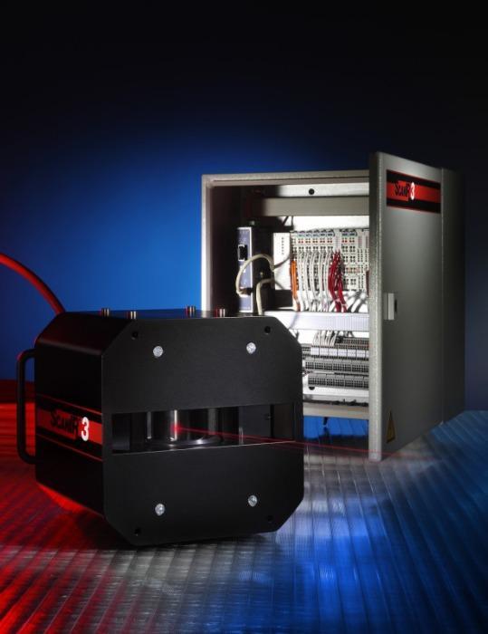 IRCON ScanIR3 Infrarot-Zeilenscanner / Wärmebildsystem - Infrarot-Zeilenscanner zur Wärmebilderstellung in Echtzeit in Bandprozessen