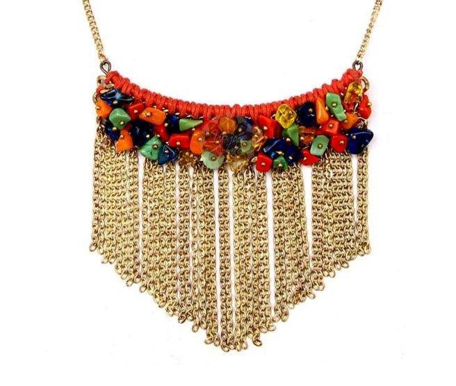 Festive Multicolor Dangle Pendant -