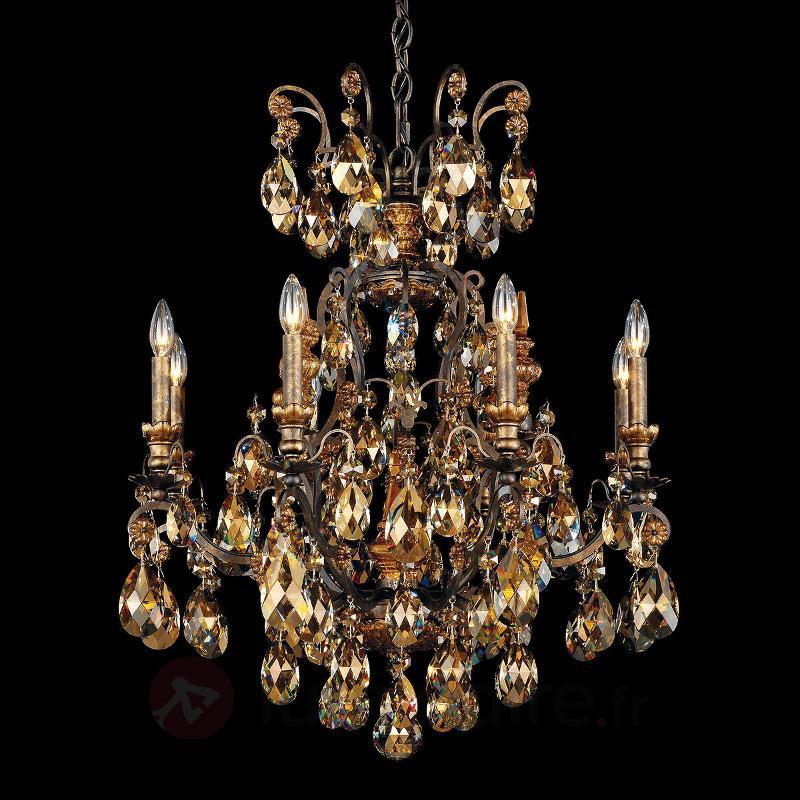 Joli lustre Renaissance - Lustres en cristal