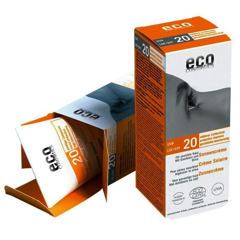 ECO Sonnencreme LSF 20 - 75ml mit Sanddorn und Olive - null
