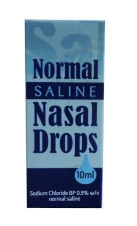 Normal Saline Nasal Drops - Normal Saline Nasal Drops