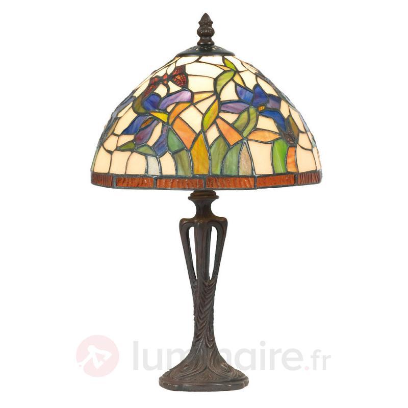 Lampe à poser ELANDA style Tiffany - Lampes à poser style Tiffany