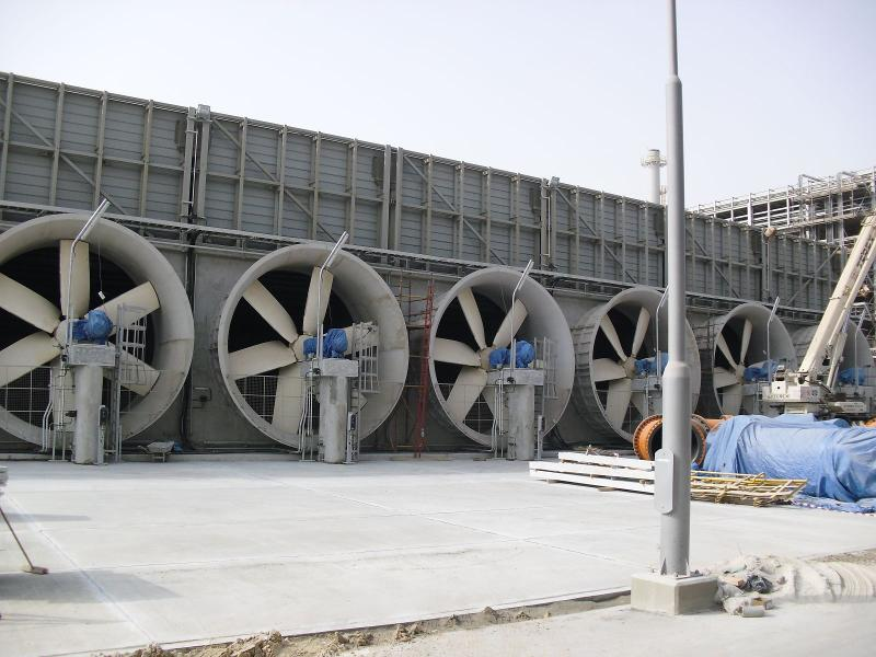 Wet cooling systems - Mechanical draft cooling towers