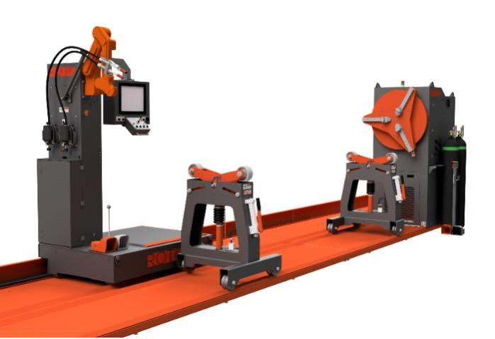 Rotoweld 3.0 Single Bay - The ultimate automated pipe spool welding solution
