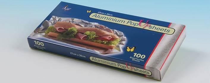 Aluminium Pop-up sheets - null