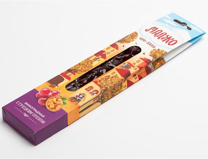 Trauben-Churchkhela (Chuch-Hela) mit Walnuss  MAGGIO  - Trauben-Churchkhela (Chuch-Hela) mit Walnuss – MAGGIO - 80 g, vakuumverpackt