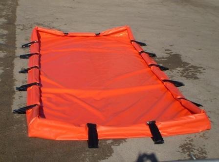 Bac de rétention pliable autoportant 18000 litres - BRSO 18000AUTO Bacs de rétention souples