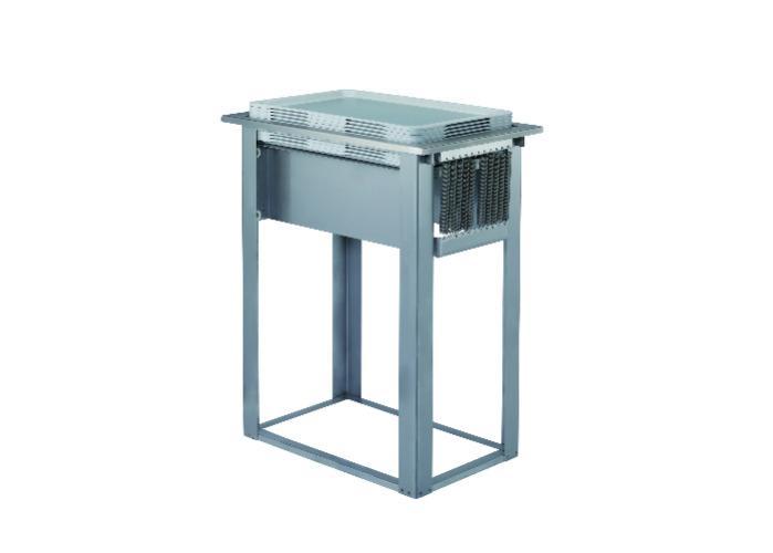 Tray dispenser, built-in -