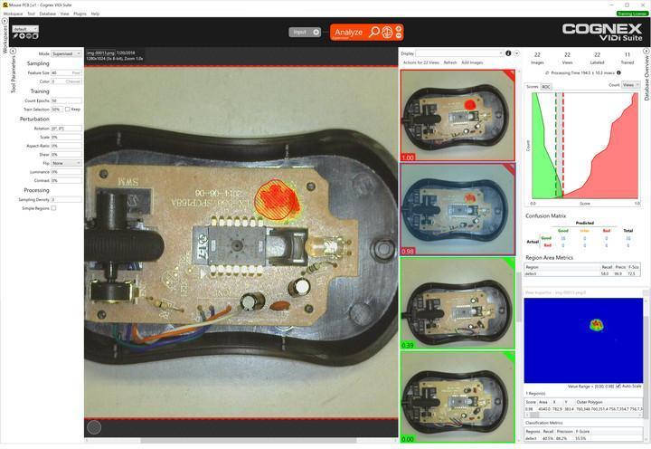 VisionPro ViDi - Logiciel basé sur le deep learning pour l'analyse d'image industrielle