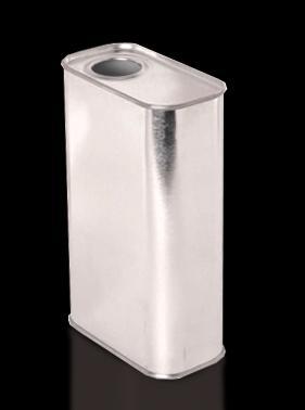Bidons métalliques rectangulaires