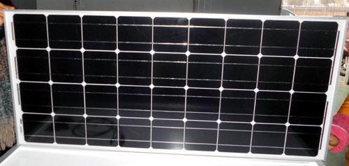 Módulo solar monocristalino del panel solar 100w - energía limpia, 25 años de vida útil